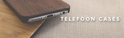 houten telefoon hoesjes