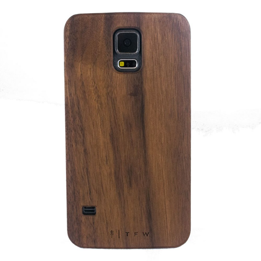 houten hoesje