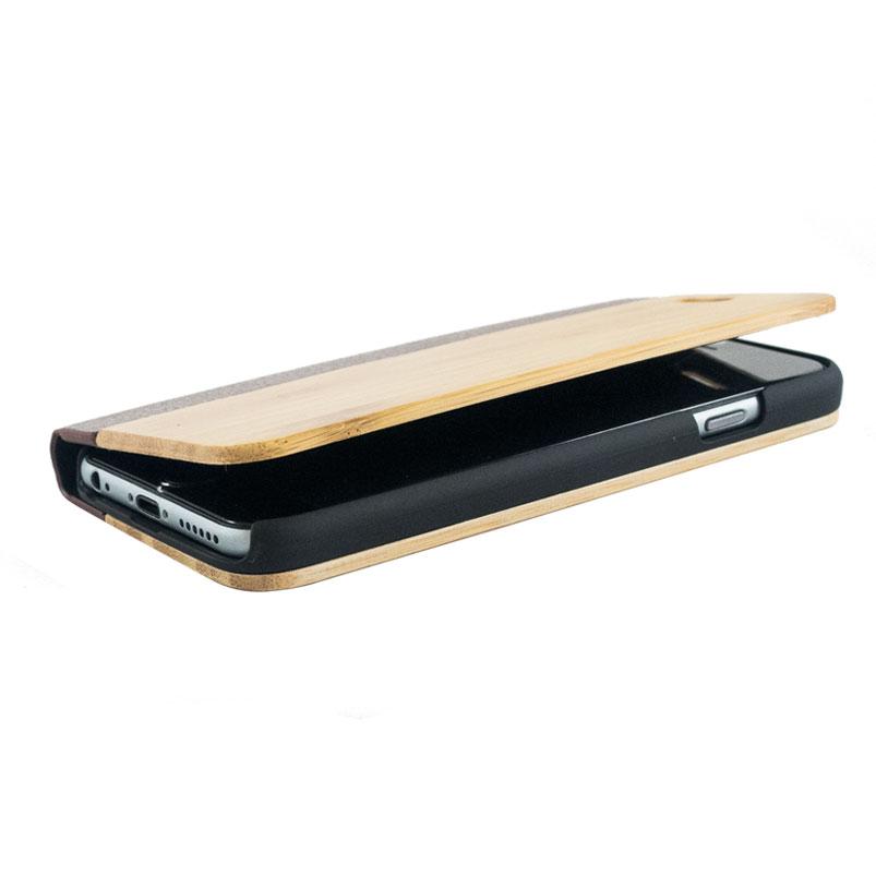 flip case hout
