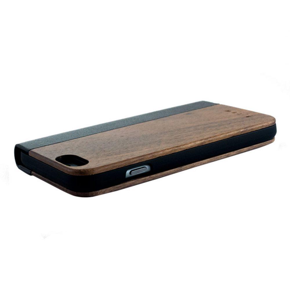 houten flip case