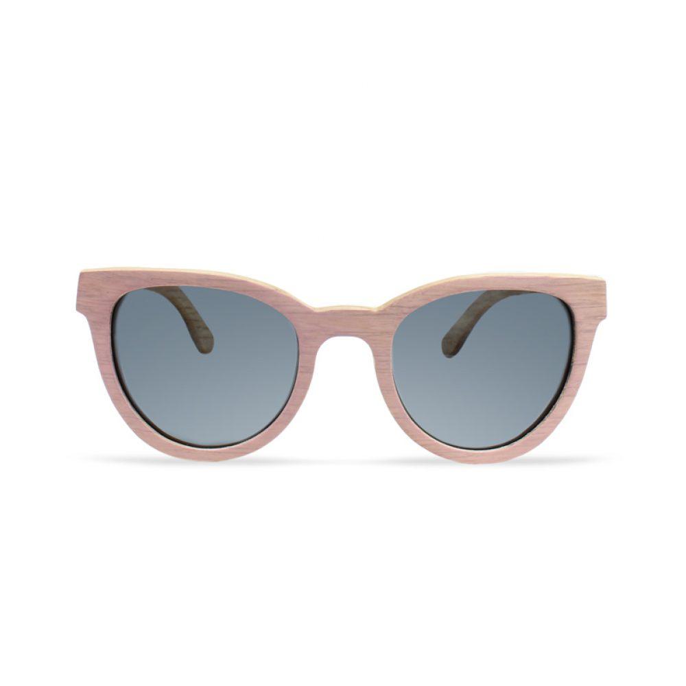 Rosea zonnebril van hout