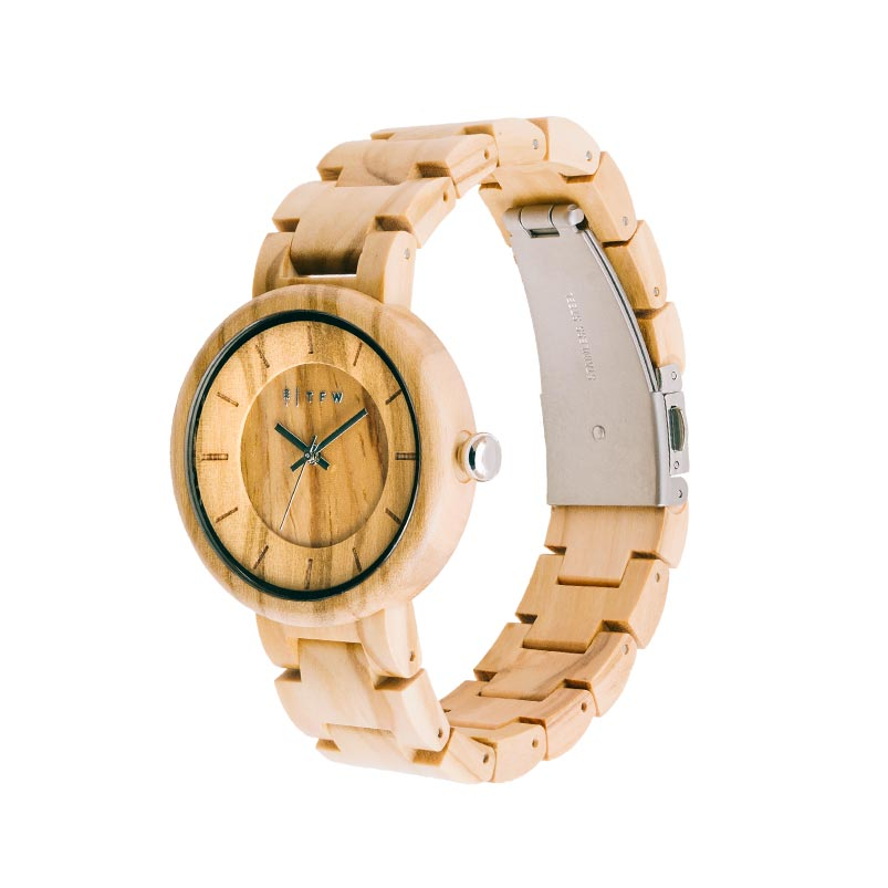 Dames horloge hout