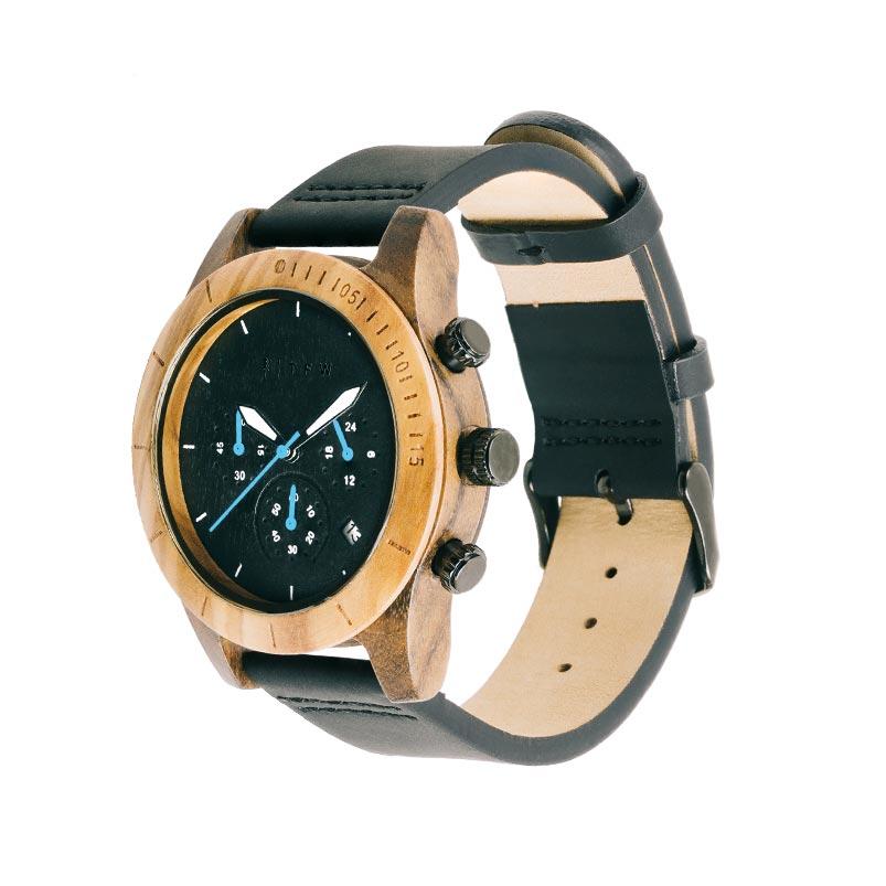 Houten horloge donker
