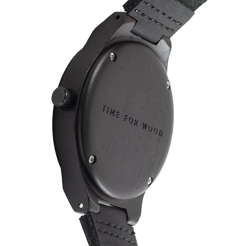 Achterkant ebben horloge